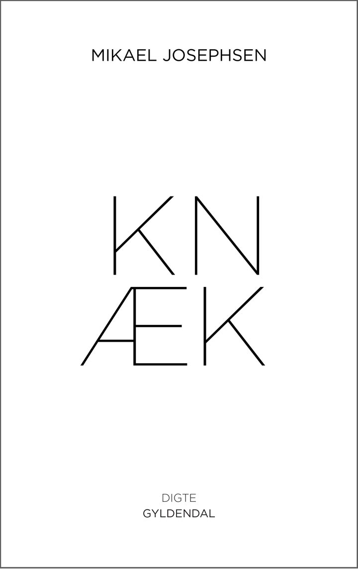 Gyldendal – Book cover for Knæk