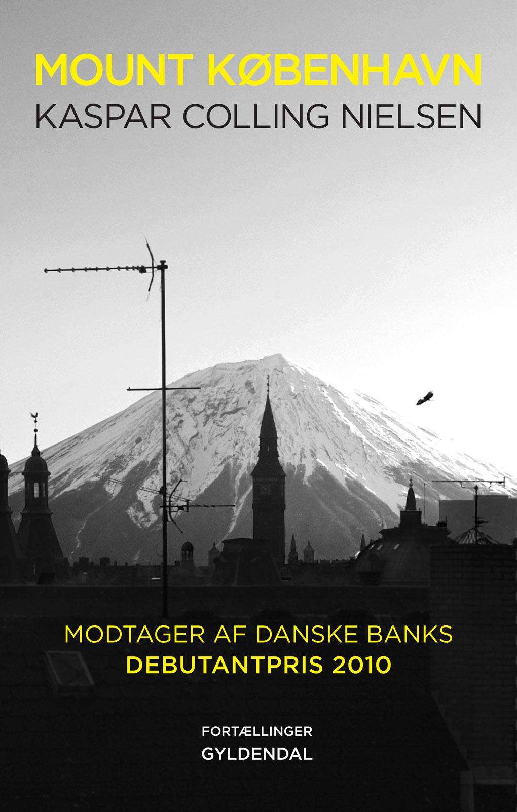 Gyldendal – book cover for Mount København