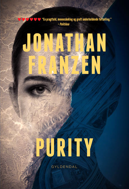 Gyldendal – Book cover for Purity