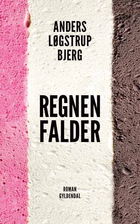 Gyldendal – Book cover for Regnen falder