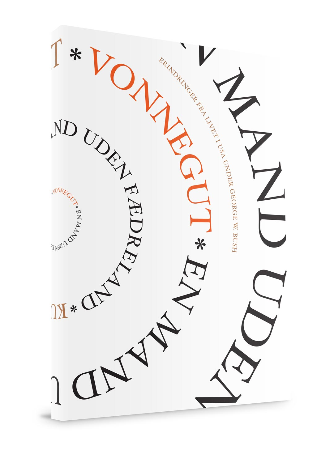 Kurt Vonnegut: En mand uden fædreland – book cover, book design, translation